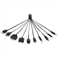 Кабель универсальный USB для зарядки мобильных телефонов (10 видов)