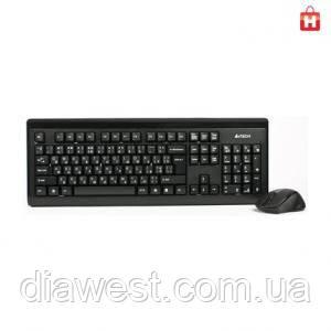 Комплект (клавиатура и мышь) A4Tech 6100F