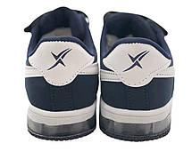 Детские текстильные кроссовки 73BLUE26 р. 27, 28 Синий, фото 3