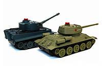 Танковый бой р/у 1:32 HuanQi 555 Tiger vs Т-34, фото 1