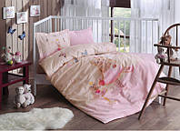Комплект детского постельного белья 100X150 Tac BALERINA PEMBE