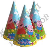 Бумажный Колпачок 16см Свинка Пеппа