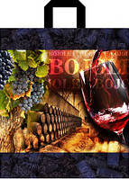 Пакет петля 40*43 Вино