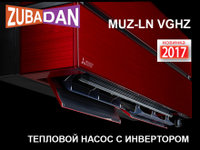 Тепловой насос инверторный Mitsubishi MSZ-LN25VGR-E1/MUZ-LN25VGHZ-ER1