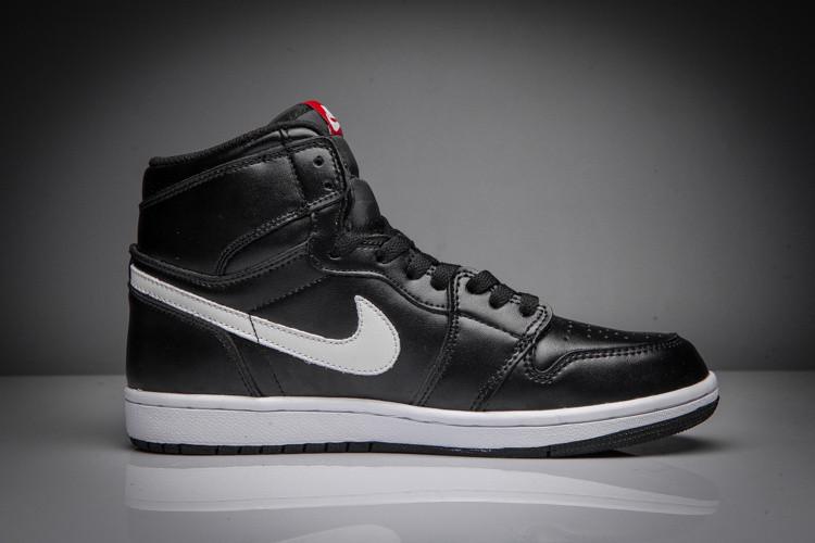 Кроссовки Air Jordan 1 Retro Black White - Интернет-магазин обуви в Киеве 9bdd113851f