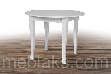 Стол деревянный круглый «Остин» для кухни (серия Престиж)  Микс Мебель