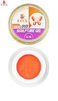 Гель-пластилин FOX 010 (оранжевый), 5 мл
