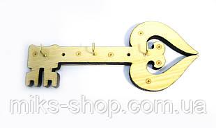 """Ключниця вішалка """"Ключ"""""""