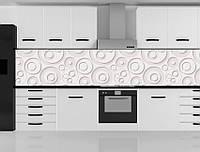 Стеклянный фартук для кухни - скинали 3D Абстракция