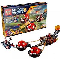 """Конструктор Lepin 14004 Nexo Knights """"Безумная колесница Укротителя"""", 334 дет."""