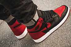 "Кроссовки Air Jordan 1 Retro ""Black/Red/White"", фото 3"