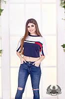 Женская футболка-топ в спортивном стиле