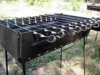 Мангал для дачи на 10 шампуров