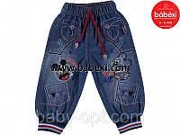 Утепленные джинсы для мальчика 1 2 3 4 года