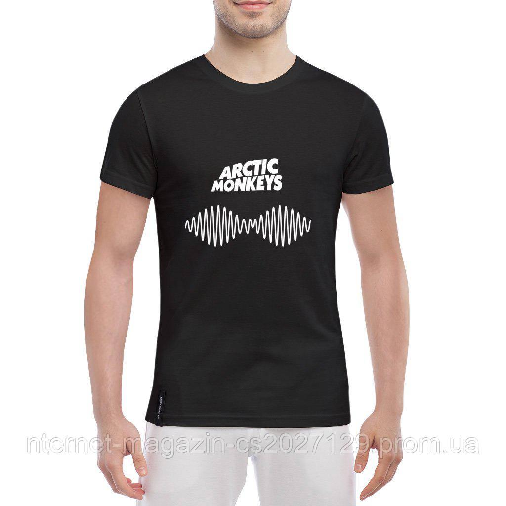 Футболка с печатью принта Arctic Monkeys