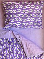 Комплект детского постельного белья с Кроликами