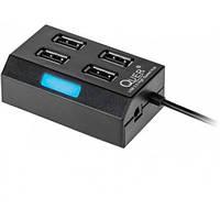 USB-хаб, 4 порта Quer