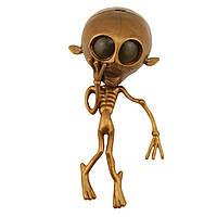 Лизун большой (инопланетянин, скелет)