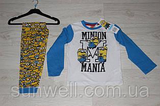Дитяча піжама для хлопчиків Minion, 3-6 років