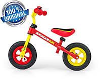 Беговел Dragon AIR с надувными колесами Milly Mally (желтый с красным), фото 1