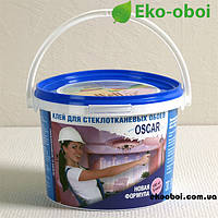 """Сухой клей """"Oscar"""" 800 гр, для стеклообоев, малярных стеклохолстов  и малярного флизелина."""