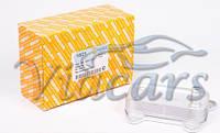 Радиатор масляный MB Sprinter/Vito OM611/646 (теплообменник), код 1821, AUTOTECHTEILE