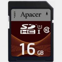Карта памяти Apacer AP16GSDHC10U1-R