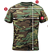 Футболка   камуфляжная  Sky Blue Camo T-Shirts ROTCHO  США, фото 3