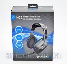 Наушники накладные с микрофоном Gioteck HC2 для PS4, XBOX One и PC, фото 2