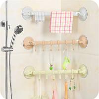 Присоска держатель в ванную для полотенец