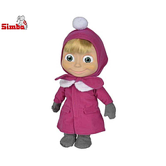 Кукла Маша с мультфильма Маша и Медведь Simba 9301676