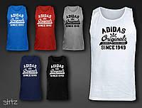 Спортивная брендовая мужская майка адидас Adidas Originals