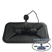 Уключина поворотна для надувних човнів ПВХ, колір чорний, фото 1