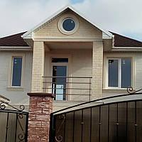 Фасадный ддекор для домов на ул.Цветная, Одесса