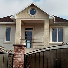 Фасадный ддекор для домов на ул.Цветная, Одесса 1