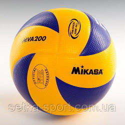 Мяч для волейбола Mikasa MVA200 (оригинал)