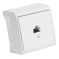 Розетка компьютерная Белый Vera Viko, 90681032