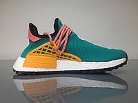 Стильные мужские кроссовки Adidas Human Race NMD x Pharrell Williams «Sun Glow»