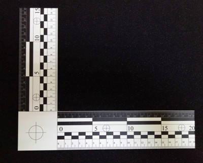 Лінійка пластикова масштабна кутова, фото 2