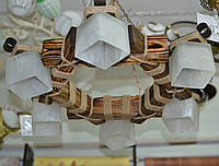Люстра, 6 ламп, подвесная