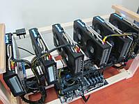 Майнинг ферма Sapphire Radeon RX 580 Nitro+ 8Gb на 6 карт