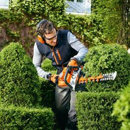 Бензиновые садовые ножницы