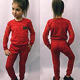 Модный костюм для девочек кофточка и брюки , фото 2