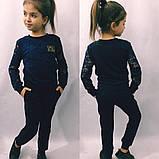 Модный костюм для девочек кофточка и брюки , фото 3