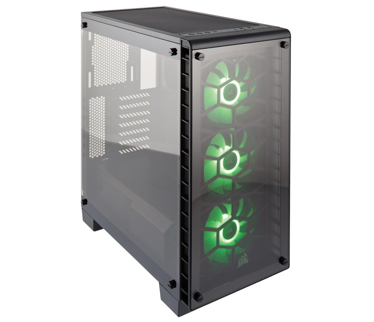 "Корпус Corsair Crystal 570X RGB Black (CC-9011098-WW) ""Over-Stock"""
