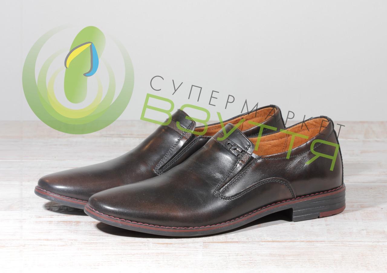 Кожаные мужские туфли L-STYLE 730кор 43,45р.
