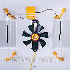 Инкубатор Теплуша ИБ 220/50 ТА 63 яйца автомат, вентилятор, ТЭН, фото 3