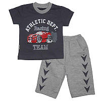 Костюм для мальчика 1-4года( 86-104) 1110 футболка и шорты