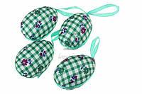"""Подвеска """"Пасхальное яйцо"""" для декора, зеленая, Пасхальный декор, Украшения для пасхи"""