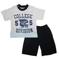 Костюм для мальчика 74-92 , 2009 футболка и шорты